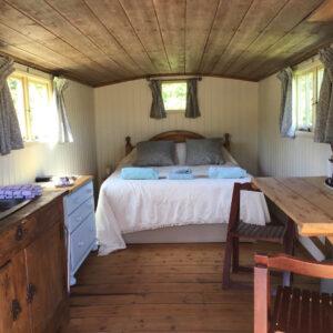 Shepherd Hut Venn Farm Holidays